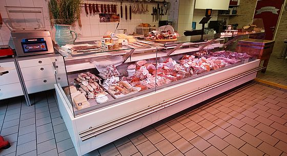 Meat display cases