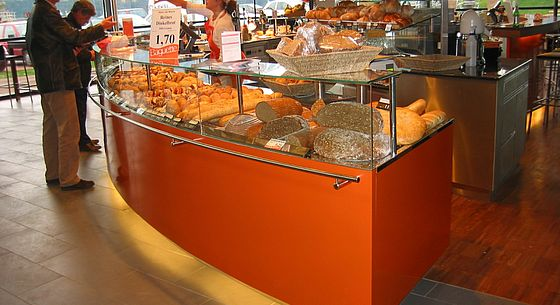 Snack display cases